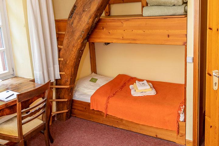 Neumühle Dreibettzimmer